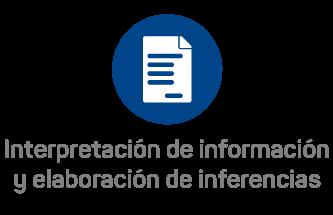 Interpretación de información y elaboración de inferencias
