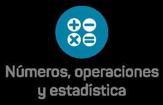 Números, operaciones y estadística