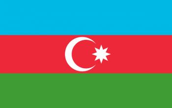 Azerbaijan Bandera